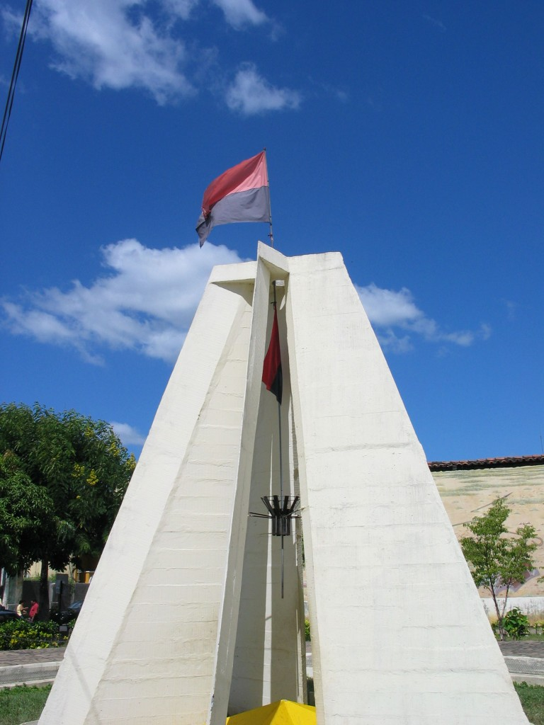 The Sandinista memorial in downtown León