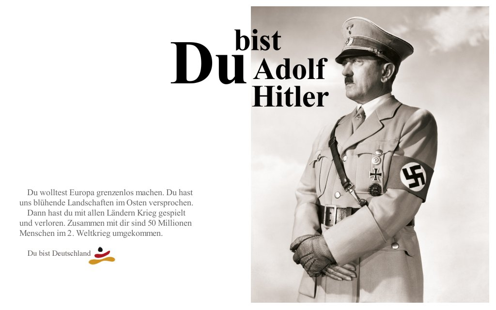 You are Hitler!