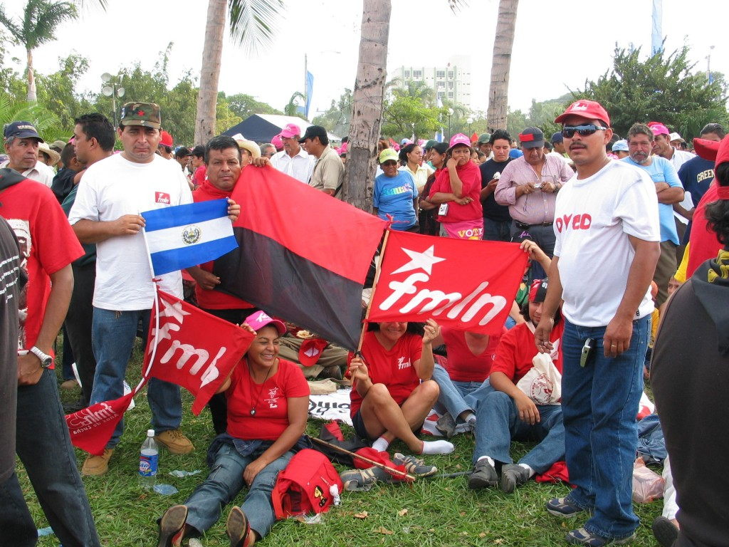 FMLN -- from El Salvador. Reagan had accused the Sandinista's of helping revolutionary movements in El Salvador. Now they were here for a conference.