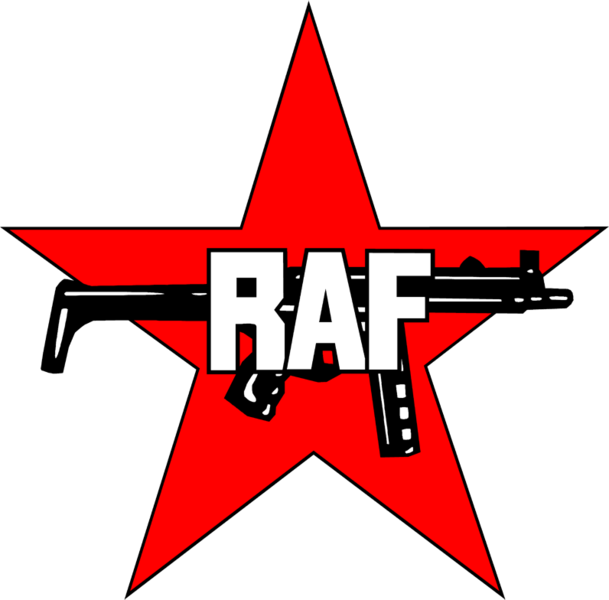 Rote Armee Fraktion (RAF) -- radical West German group that wasn't shy of violence.