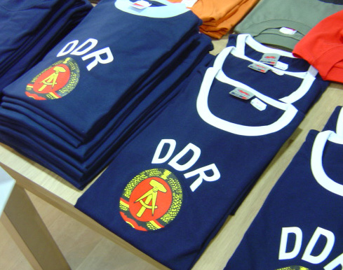 Buy a youthfil shirt to show you support the GDR -- well if it hadn't collapsed some 19 years ago.